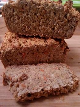 Bread - carrot, oat, chestnut gluten-free flour 7