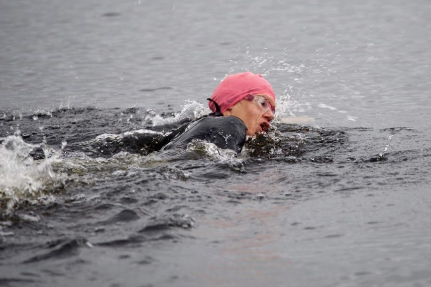 Outdoor summer swims