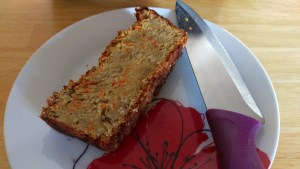 Lentil, seed, veggie  loaf – chuck it together and go