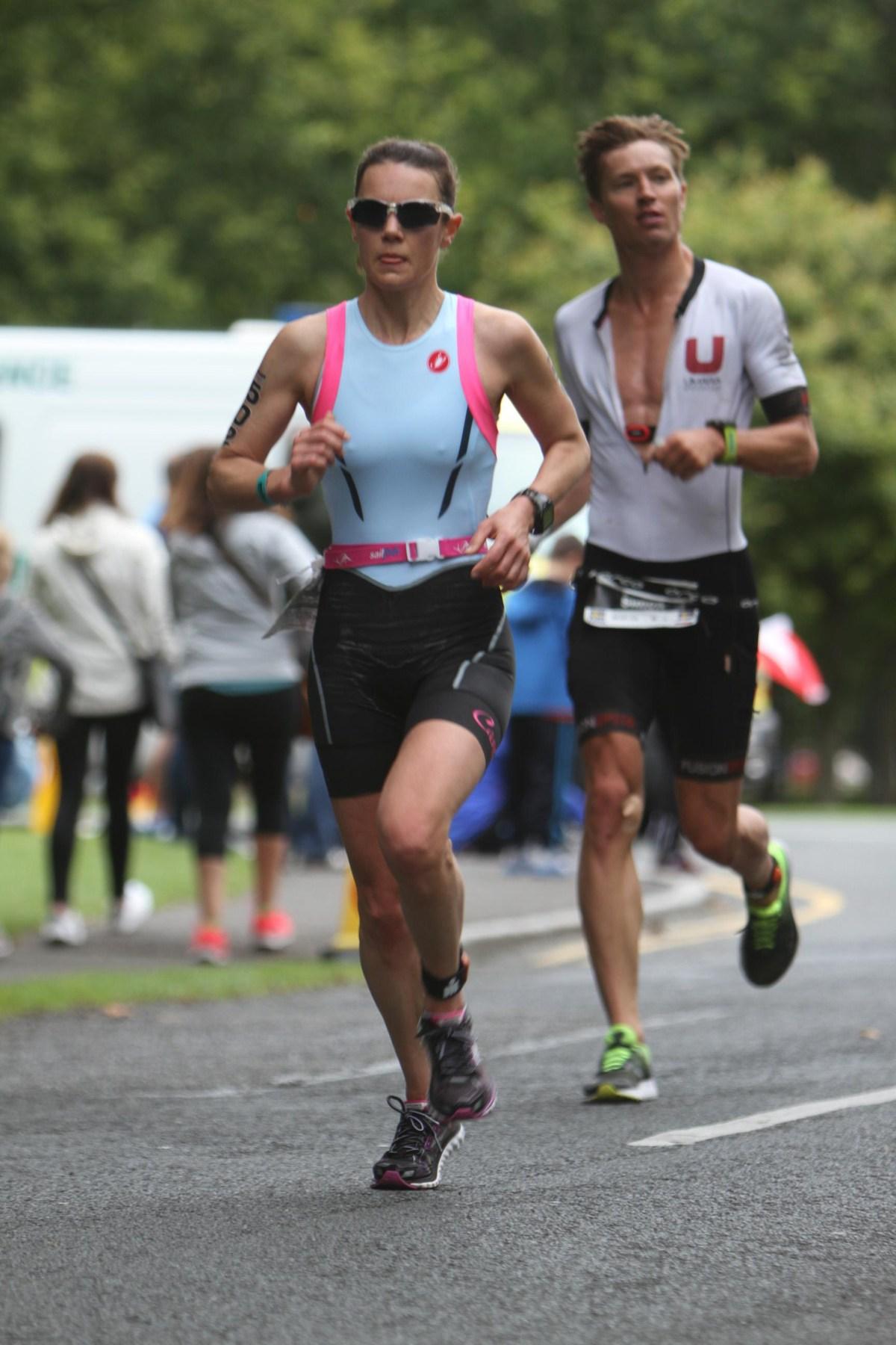 Andrea racing ironman 70.3 Dublin 2017