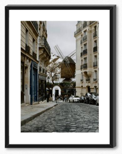Montmartre negro