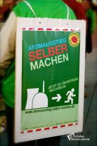 19. Anti-Atom-Montagsspaziergang am 21. März 2011 in Saarbrücken