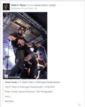 Vlad In Tears sharen ein Foto von mir (venue music)