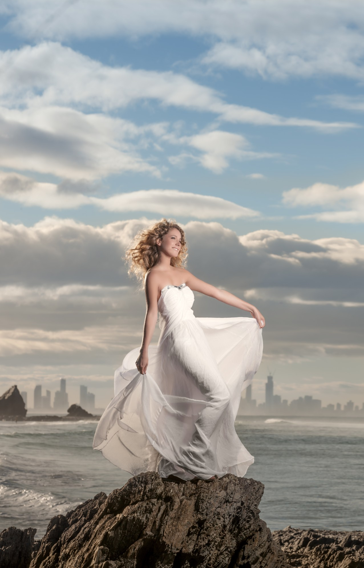 Wedding portraits that stand out