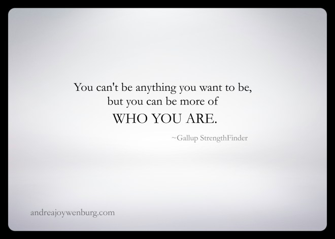 Be More Of Who You Are