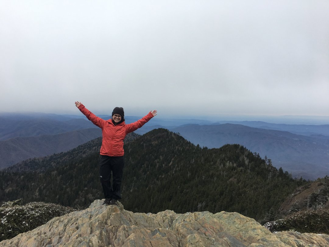 Hiking Alum Cave Trail to Mount LeConte