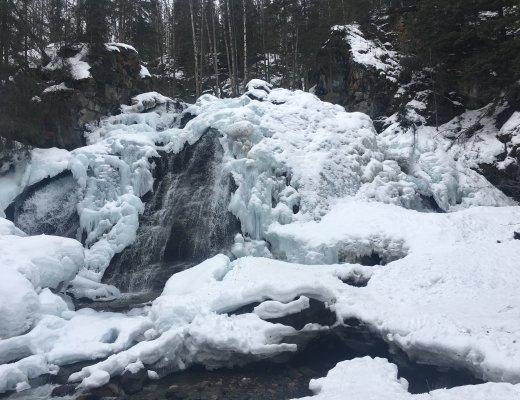 hike barbara falls