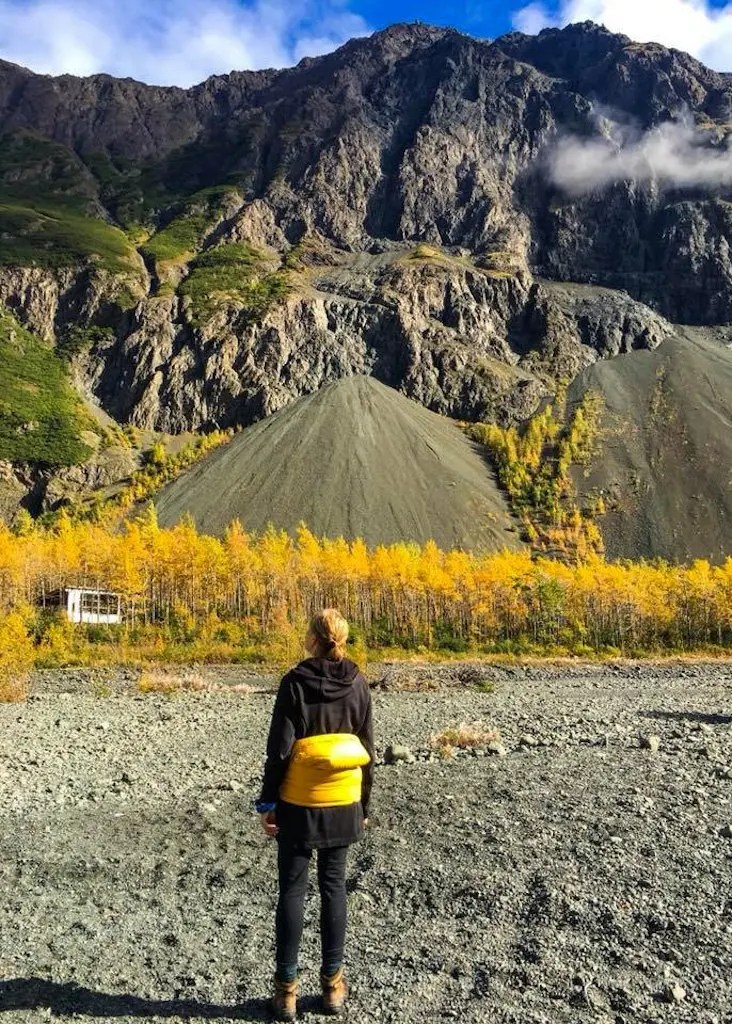 Serenity Fall Hut Eklutna Alaska