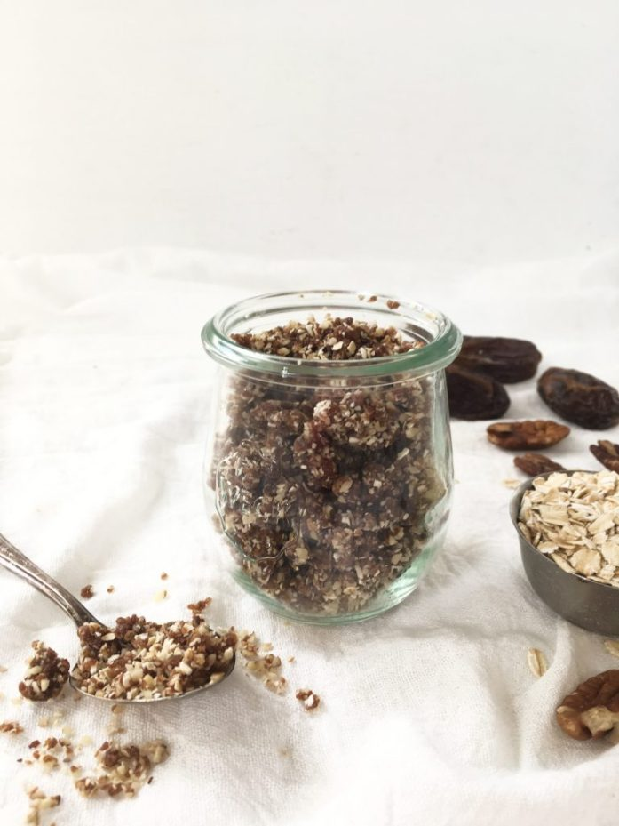 vegan raw granola