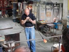 Glasblazen in Murano