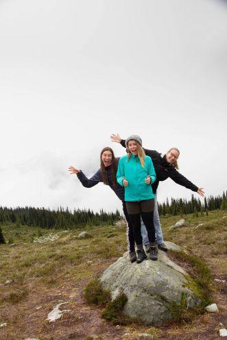 Met Megan en Laurie