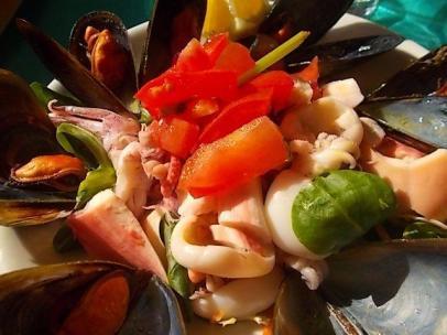 insalata di mare bagno la vela castiglion della pescaia (2)