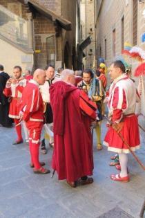 figuranti corteo storico fiorentino