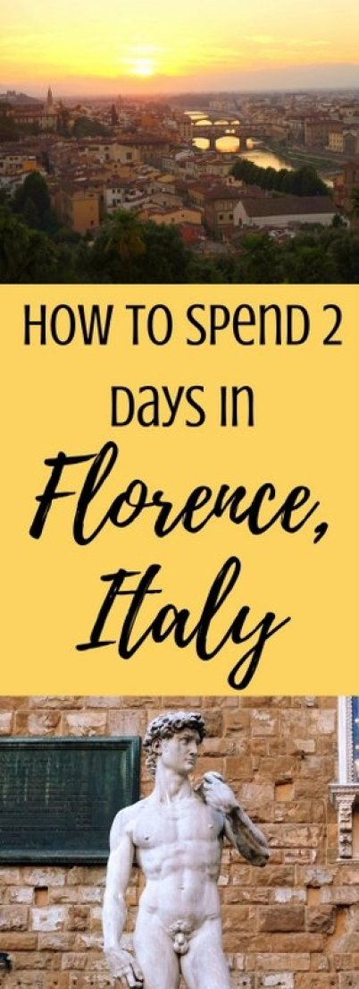 How to Spend 2 Days in Florence, Italy | www.andreapeacock.com