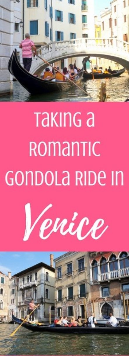 Taking a Romantic Gondola Ride in Venice, Italy | www.andreapeacock.com