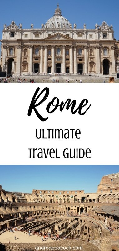 How to Spend 3 or 4 Days in Rome, Italy: Rome Travel Guide | www.andreapeacock.com
