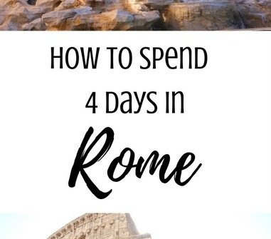 How to Spend 4 Days in Rome | www.andreapeacock.com #rometravelguide #italytravelguide
