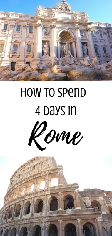 How to Spend 4 Days in Rome   www.andreapeacock.com #rometravelguide #italytravelguide