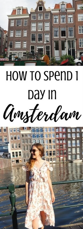 How to Spend 1 Day in Amsterdam, Netherlands | www.andreapeacock.com