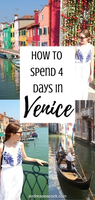 How to Spend 4 Days in Venice, Italy | www.andreapeacock.com