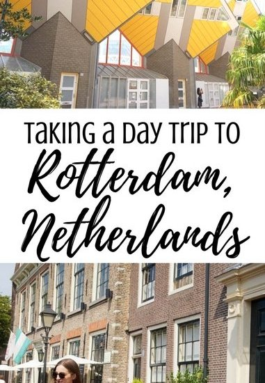 How to Spend One Day in Rotterdam, Netherlands | Rotterdam Travel Guide | www.andreapeacock.com