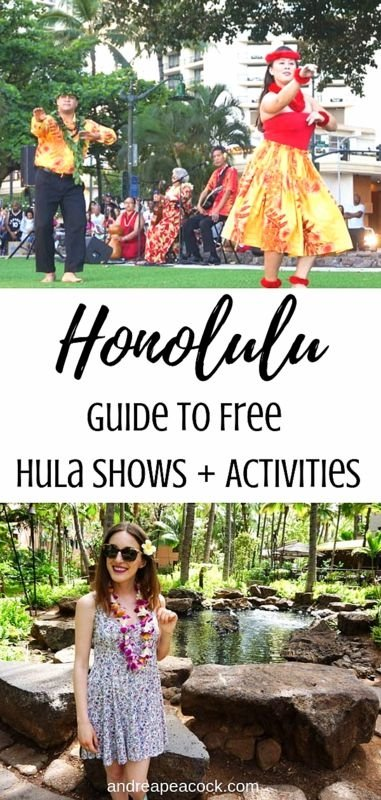 Honolulu Travel Guide: Guide to Free Hula Shows and Cultural Activities in Waikiki, Honolulu