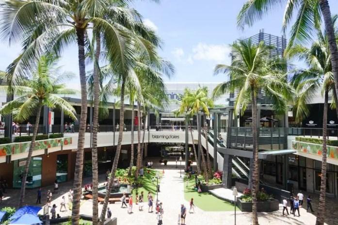 Oahu Hawaii travel guide Ala Moana Center