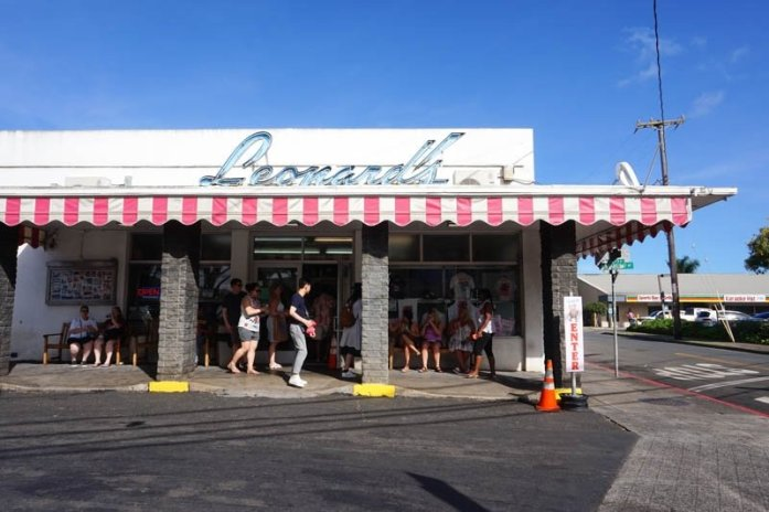Oahu Hawaii travel guide Leonard's Bakery