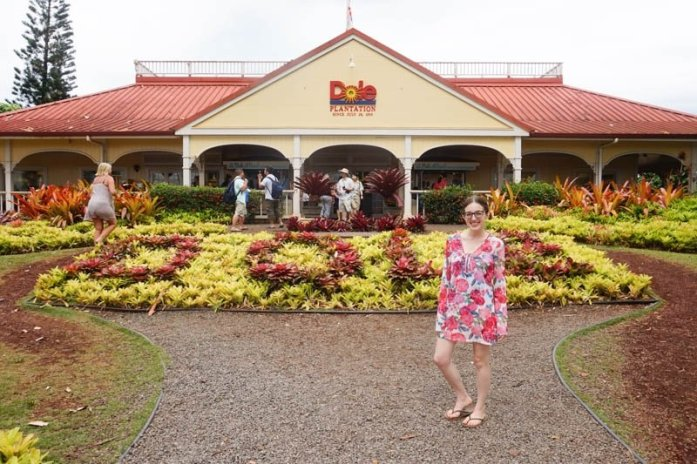 Dole Plantation pineapple ice cream on Oahu, Hawaii