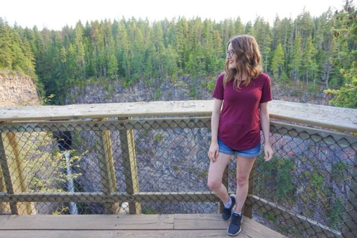 Kamloops, British Columbia Waterfall Guide | Spahats Falls | Kamloops Hiking Guide | British Columbia Hiking Guide | Canada Hiking Travel Guide