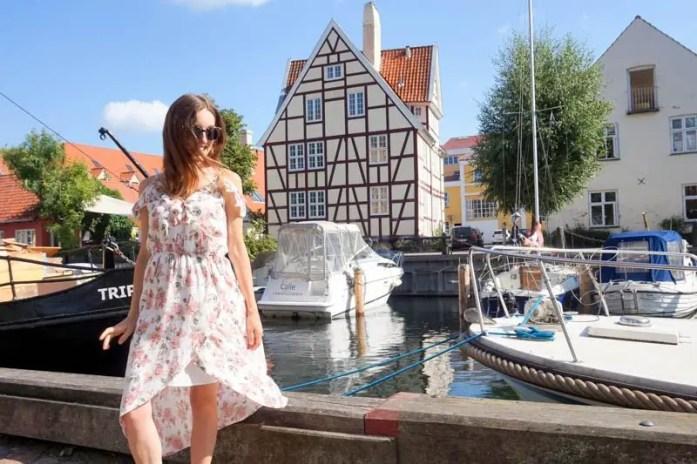 Christianshavn is a neighbourhood in Copenhagen, Denmark along a canal.