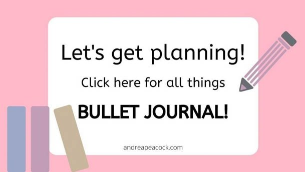 Andrea Peacock Bullet Journal Blog