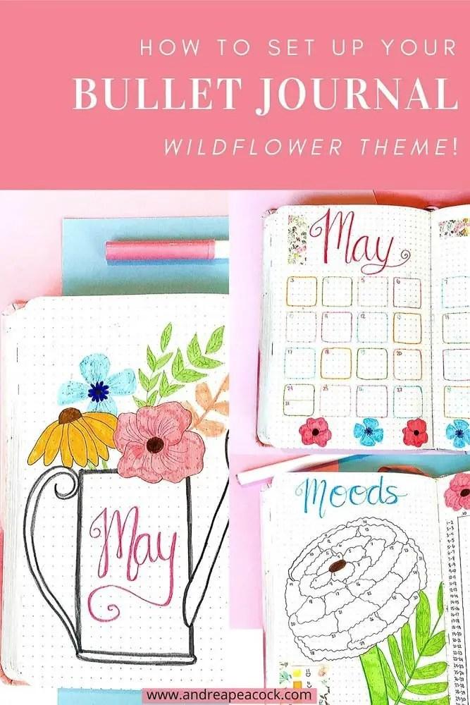 May Bullet Journal Setup