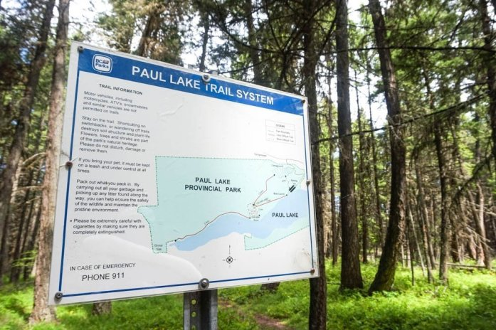 Paul Lake Provincial Park