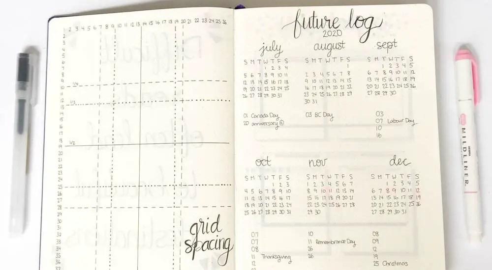 minimalist bullet journal setup for beginners
