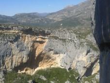 Roccia, forme e colori dell'ambiente verdoniano