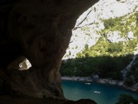 Big cave over the Verdon