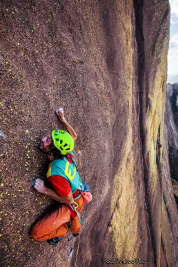 Gabriele on the last mouves of the hardest pitch