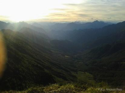 Tramonto sulla Val Resia