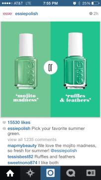 Essie Pick - Green