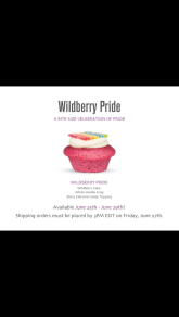 Wildberry Pride - Baked by Melissa
