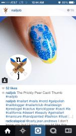 Nailjob - Prickly Pear
