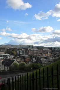 Edinburgh city views! Such goth, and romantic buildings.