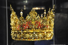 One of the first crowns of Denmark! The details are immpecable!