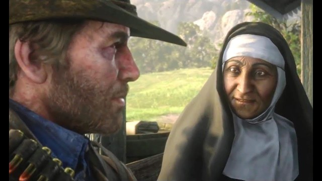 This image has an empty alt attribute; its file name is Arthur-and-the-Nun.jpg