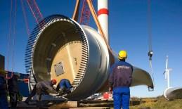 RePower Winenergieanlage Installation