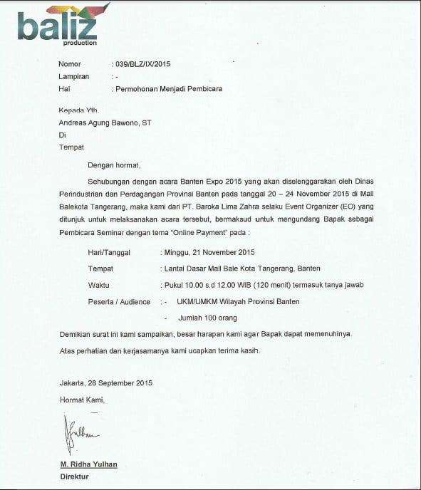 Pembicara Bisnis Online Banten Expo di Tangerang