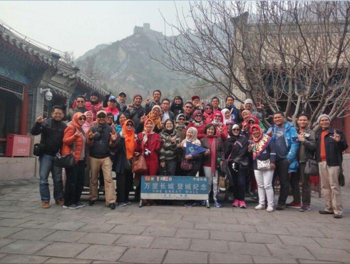 liburan ke tembok china