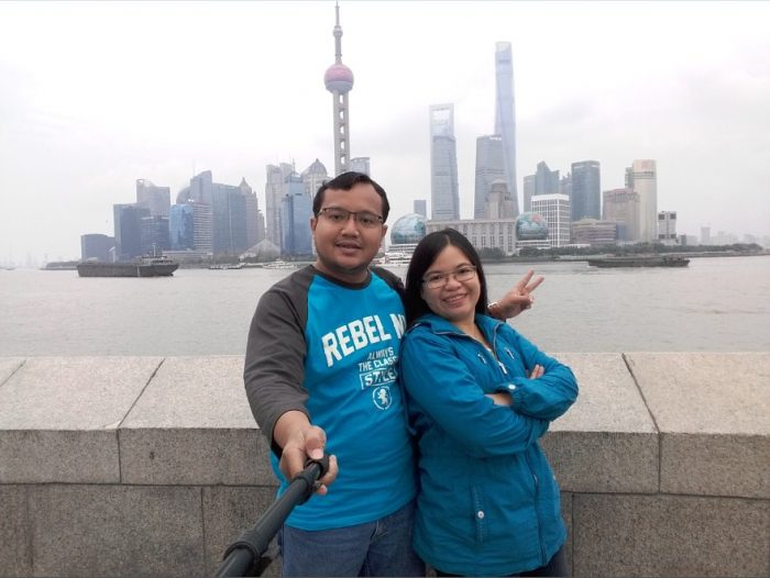 rekreasi ke kota shanghai