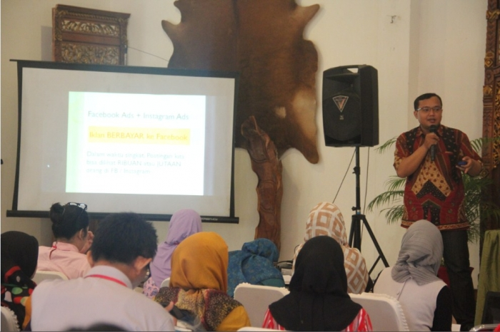 Pembicara Digital Marketing Kementerian Kominfo Tangsel
